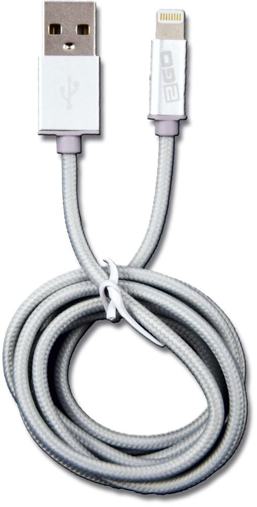 2GO USB Data Cable Apple Lightning 1 m silver – Bild 1