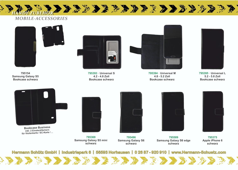 2GO Klappetui für Samsung Galaxy S6 Leder – Bild 5