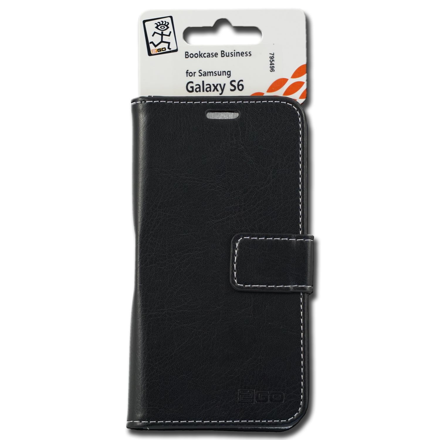 2GO Book-Case Business für Samsung Galaxy S6 Leder – Bild 1