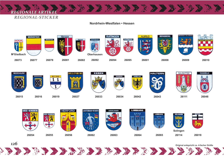 Aufkleber Wappen Leer (Ostfriesland) 120 x 80 mm – Bild 4