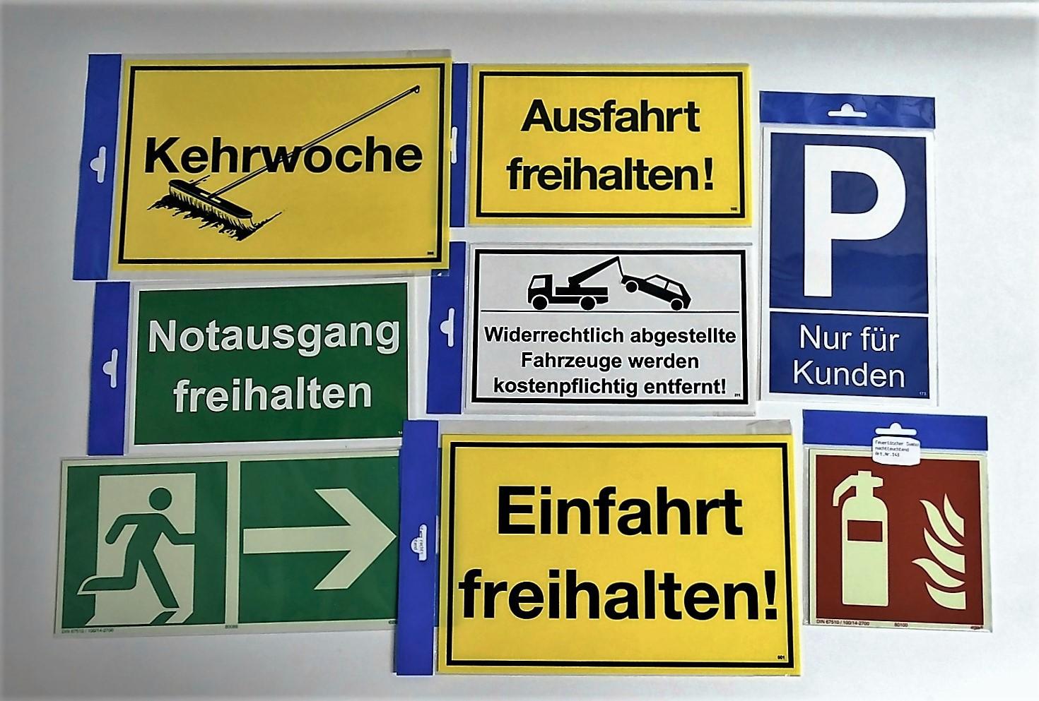 Bitte Tür geschlossen halten! 150 x 250 mm Warn- Hinweis- und Verbotsschild PST-Kunststoff – Bild 2