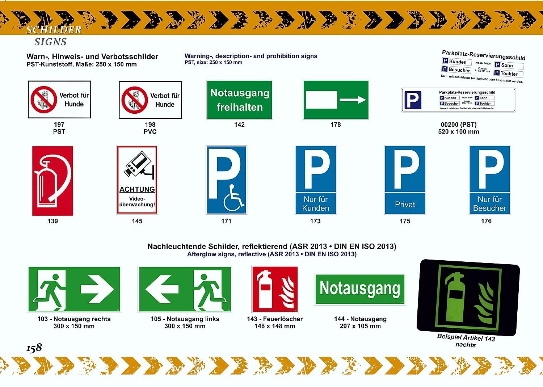 Bitte Tür geschlossen halten! 150 x 250 mm Warn- Hinweis- und Verbotsschild PST-Kunststoff – Bild 5