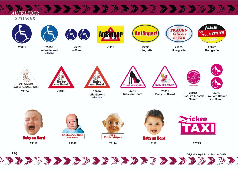 Sticker Baby on Board triangular 115 x 130 mm – Bild 4