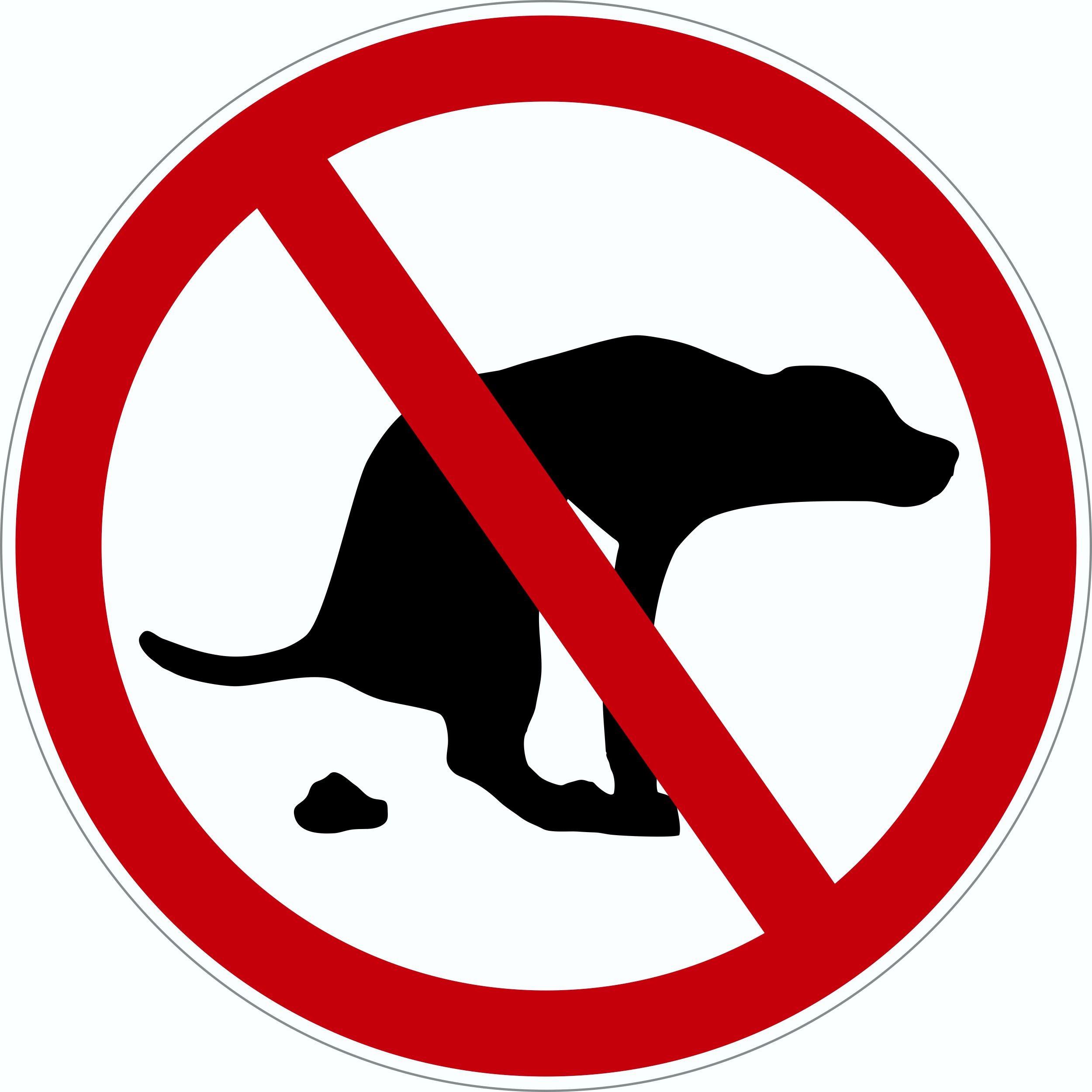 Hundekot Verbot