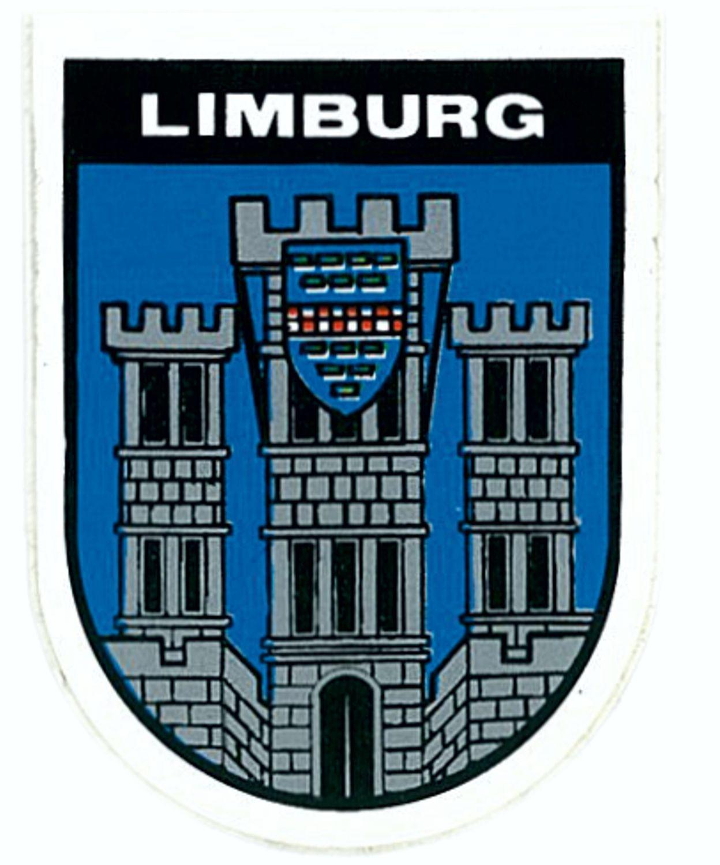 Aufkleber Wappen Limburg 115 x 90 mm – Bild 1