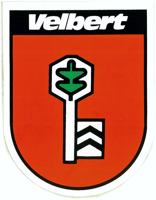 Aufkleber Wappen Velbert 115 x 90 mm – Bild 1