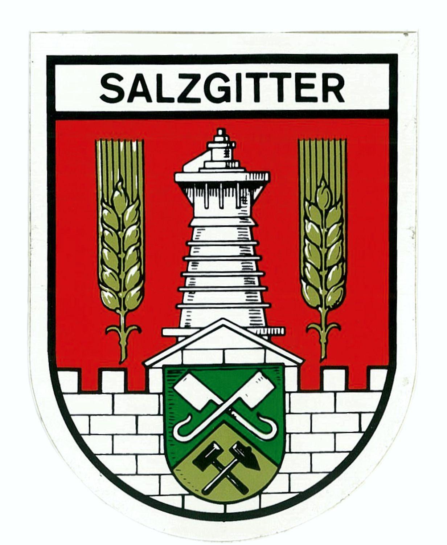 Aufkleber Wappen Salzgitter 115 x 90 mm – Bild 1