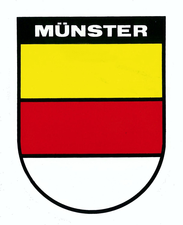 Aufkleber Wappen Münster 60 x 45 mm – Bild 1