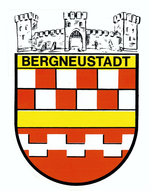 Aufkleber Wappen Bergneustadt 115 x 90 mm – Bild 1