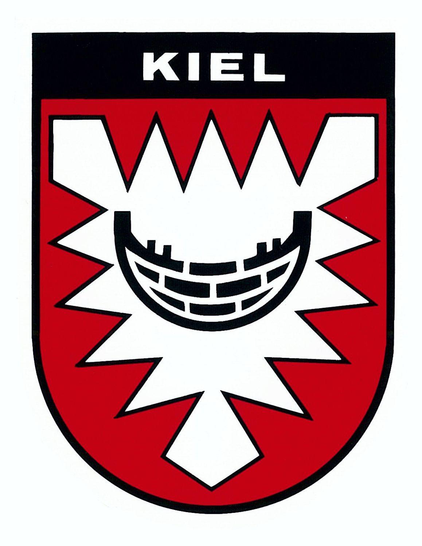 Aufkleber Wappen Kiel 115 x 90 mm – Bild 1