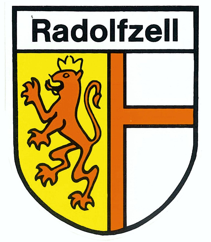 Autocollant amoiries Radolfzell 75 x 60 mm – Bild 1