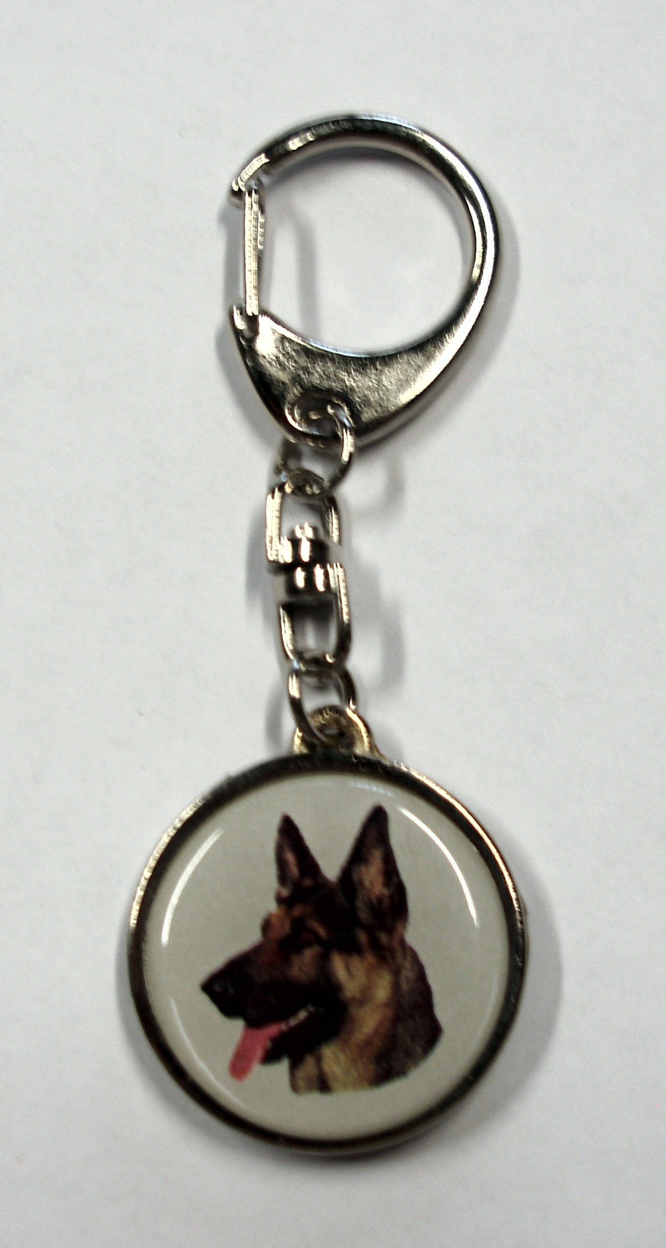 Key holder metal german shepherd 95 x 35 mm motive both-sided – Bild 1