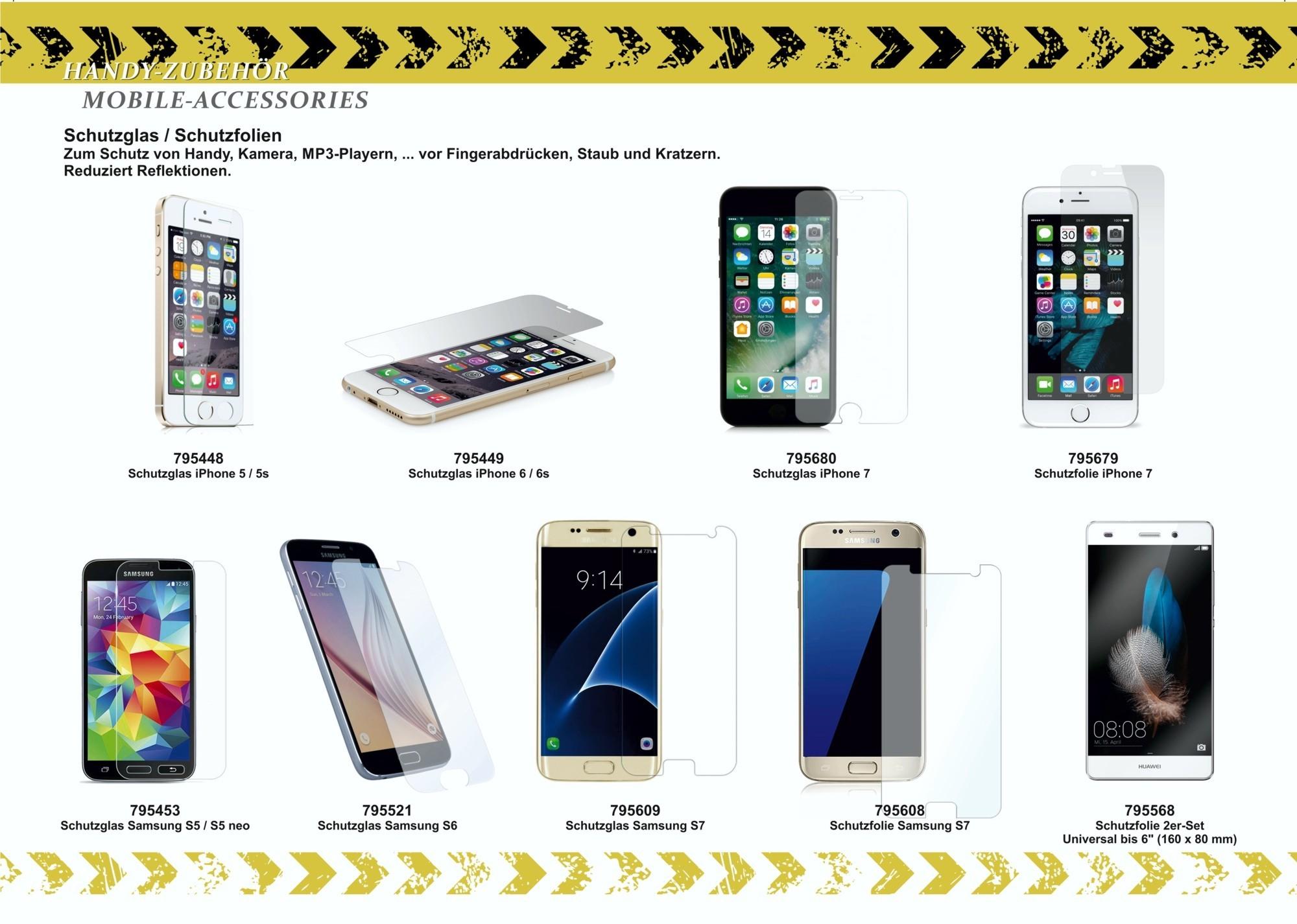2GO Display Schutzglas für iPhone 6 / 6S – Bild 3