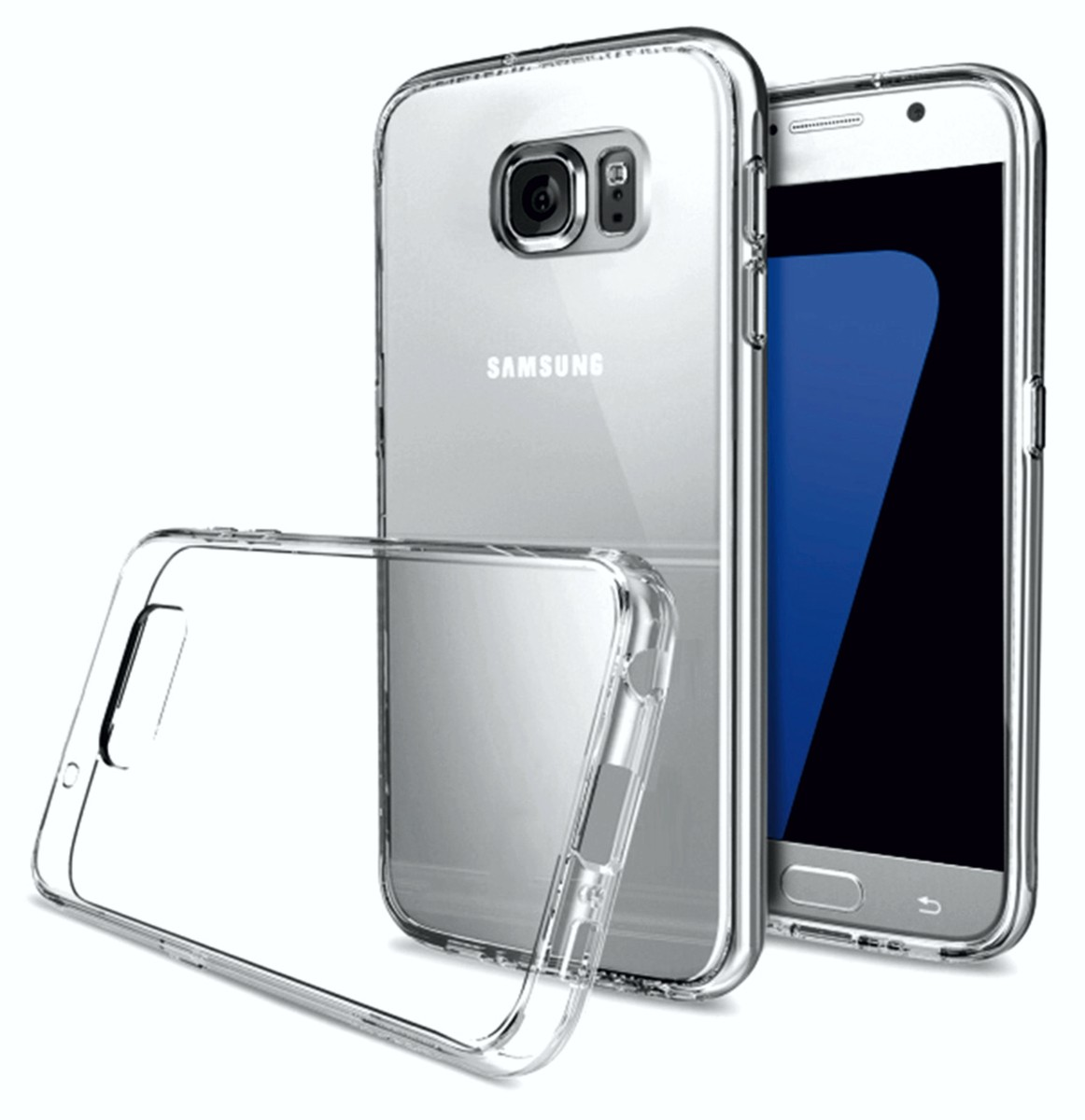 2GO TPU-Case for Samsung Galaxy S7 transparent – Bild 1