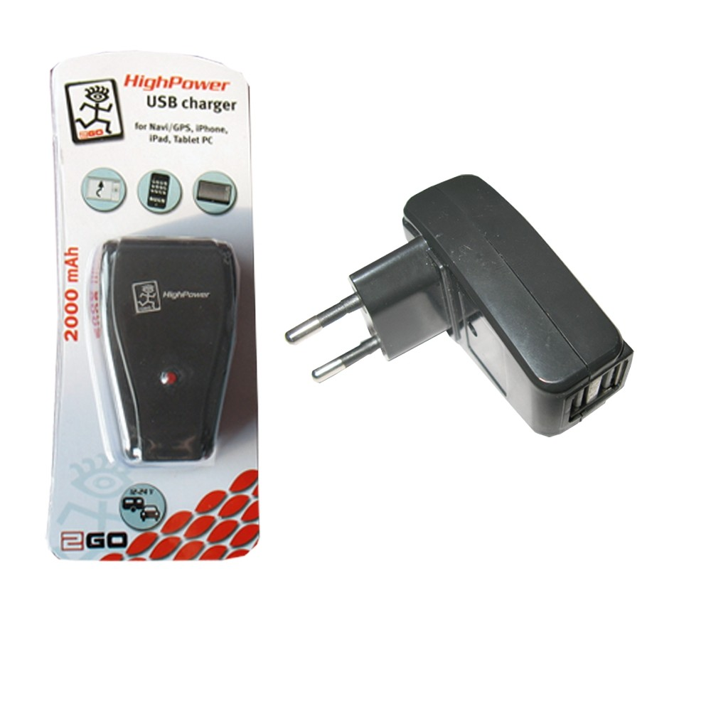 2GO charger with 2 USB connections – Bild 1