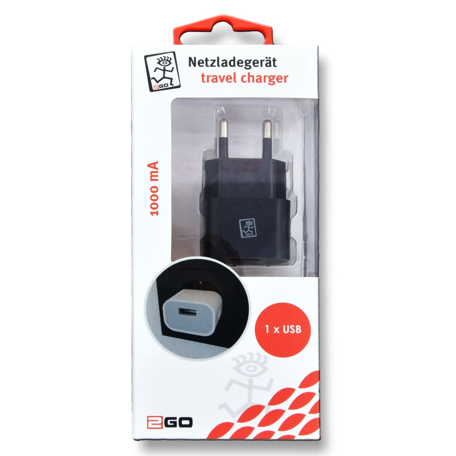 2GO charger with USB connection – Bild 2