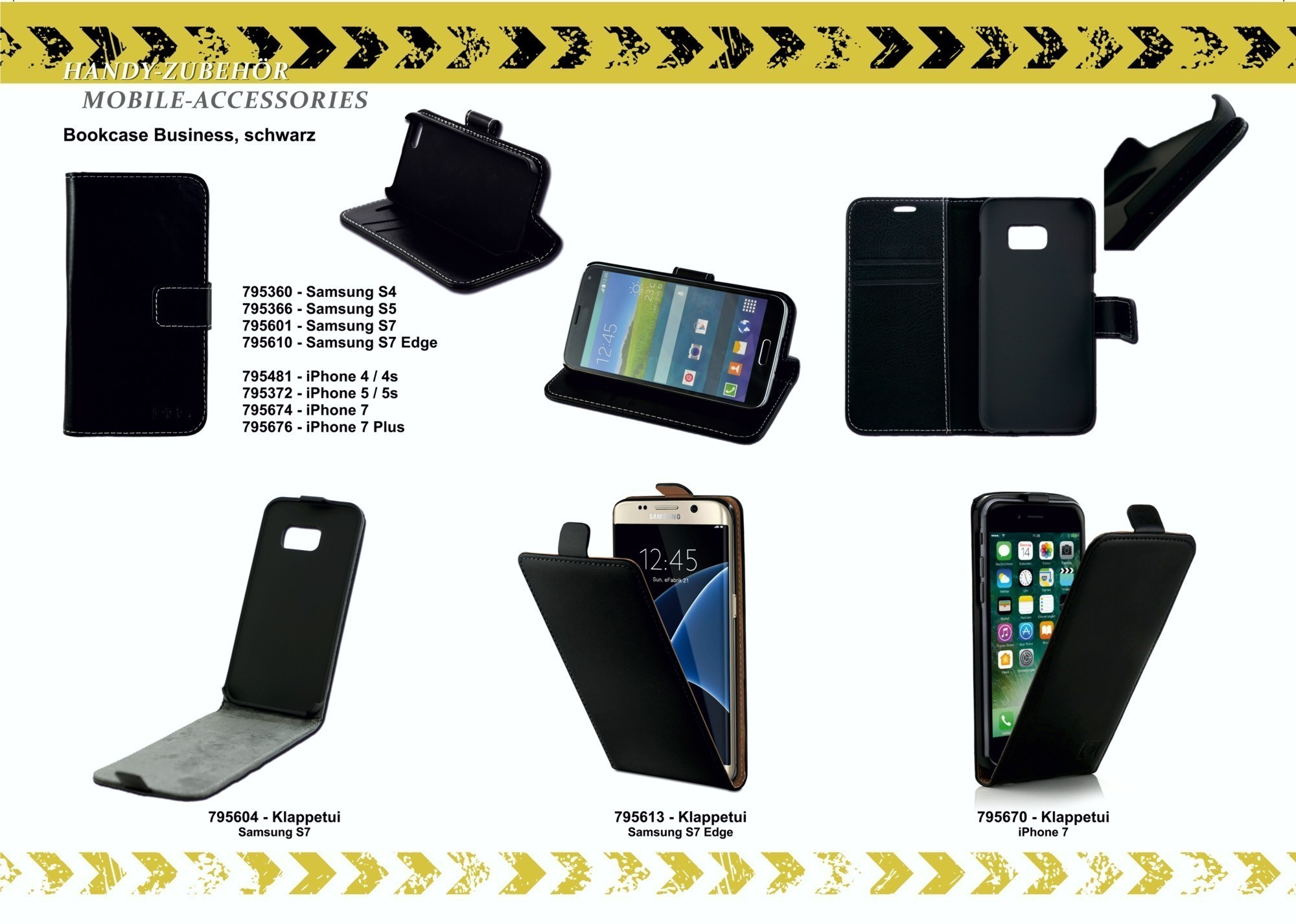 2GO Book-Case für Apple iPhone 5 / 5S Leder – Bild 9