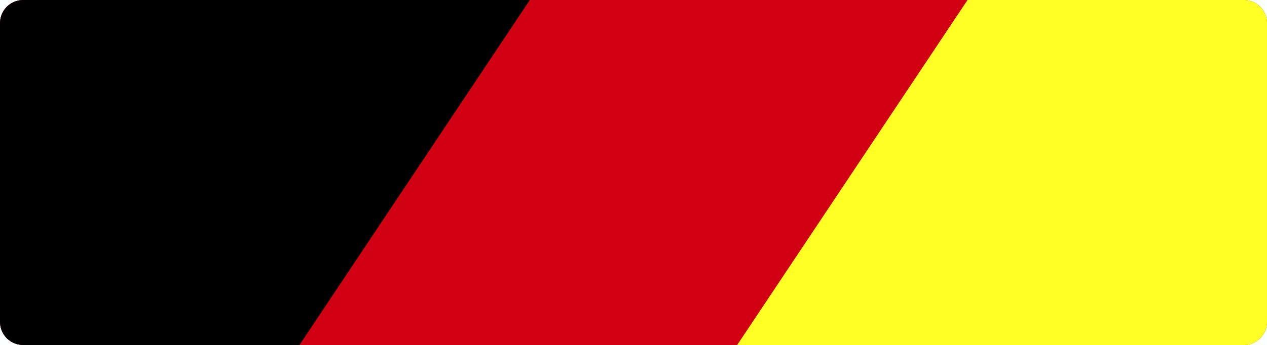 Aufkleber Deutschland Flagge Dimension 15 x 55 mm Deutschland Fanartikel  – Bild 1