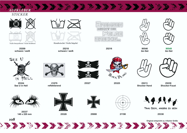 Aufkleber Eisernes Kreuz 60 x 45 mm 2er-Set  – Bild 5