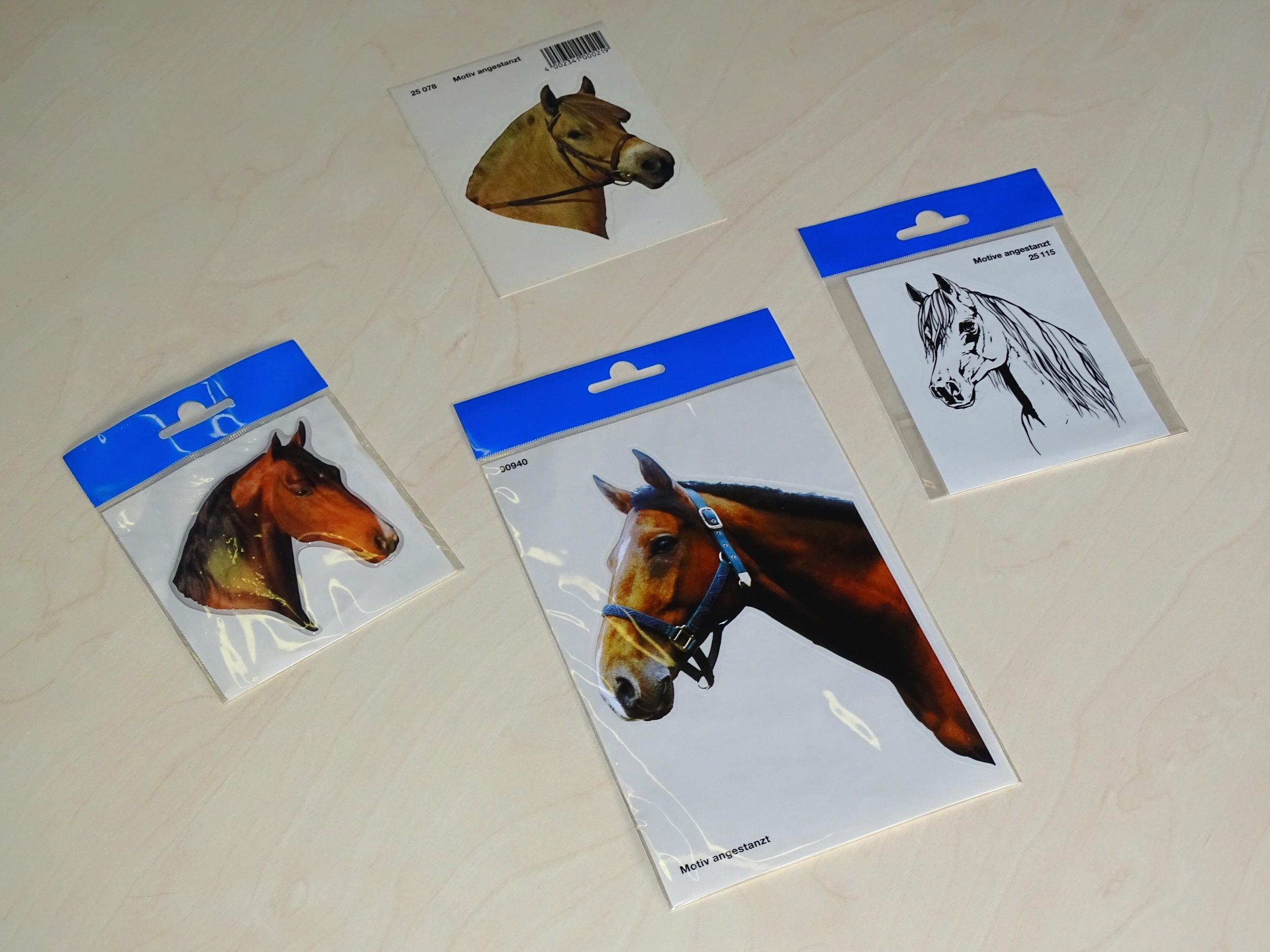 """Aufkleber Pferd """" Ich find Sie zum wiehern! """" 120 x 100 mm   – Bild 2"""