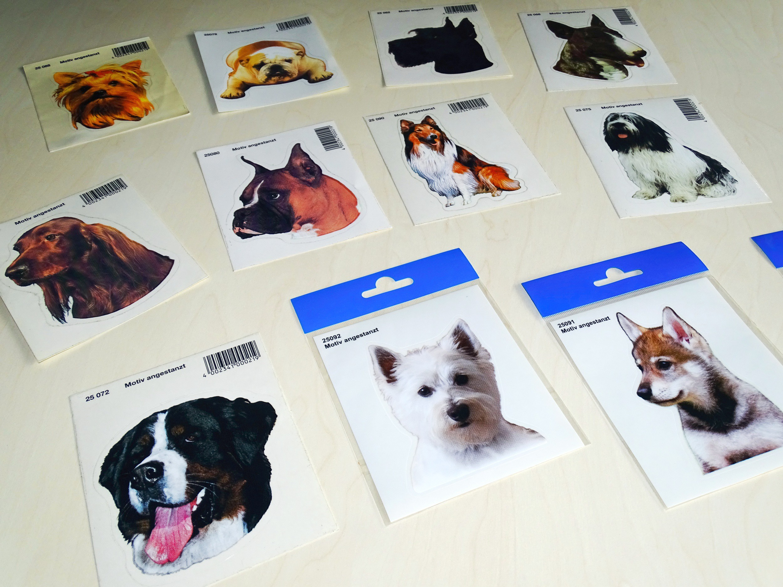 Sticker dog französische bulldogge 120 x 110 mm – Bild 3