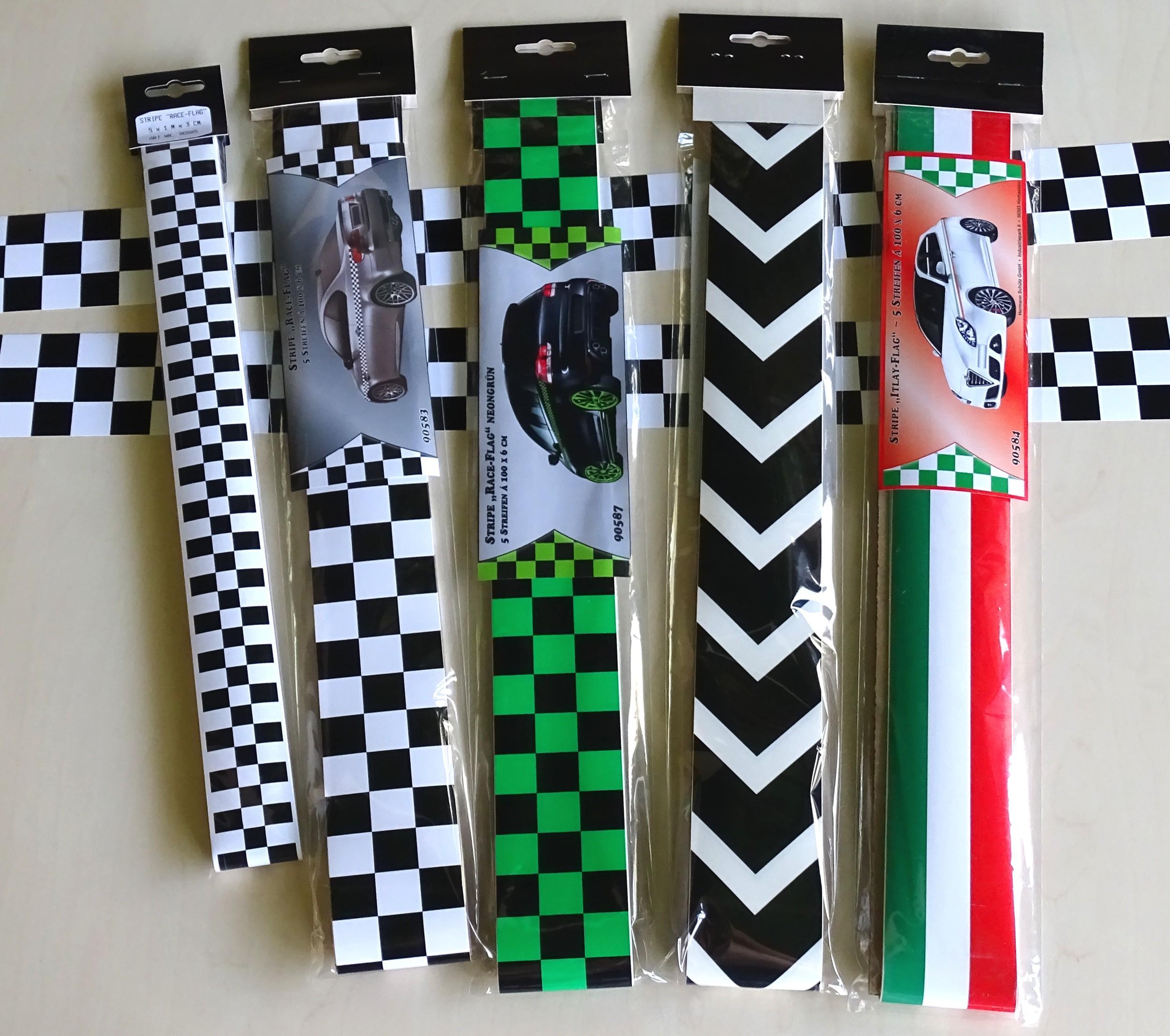 "Stripe ""Racing"" Zierstreifen 5 m x 60 mm  – Bild 4"