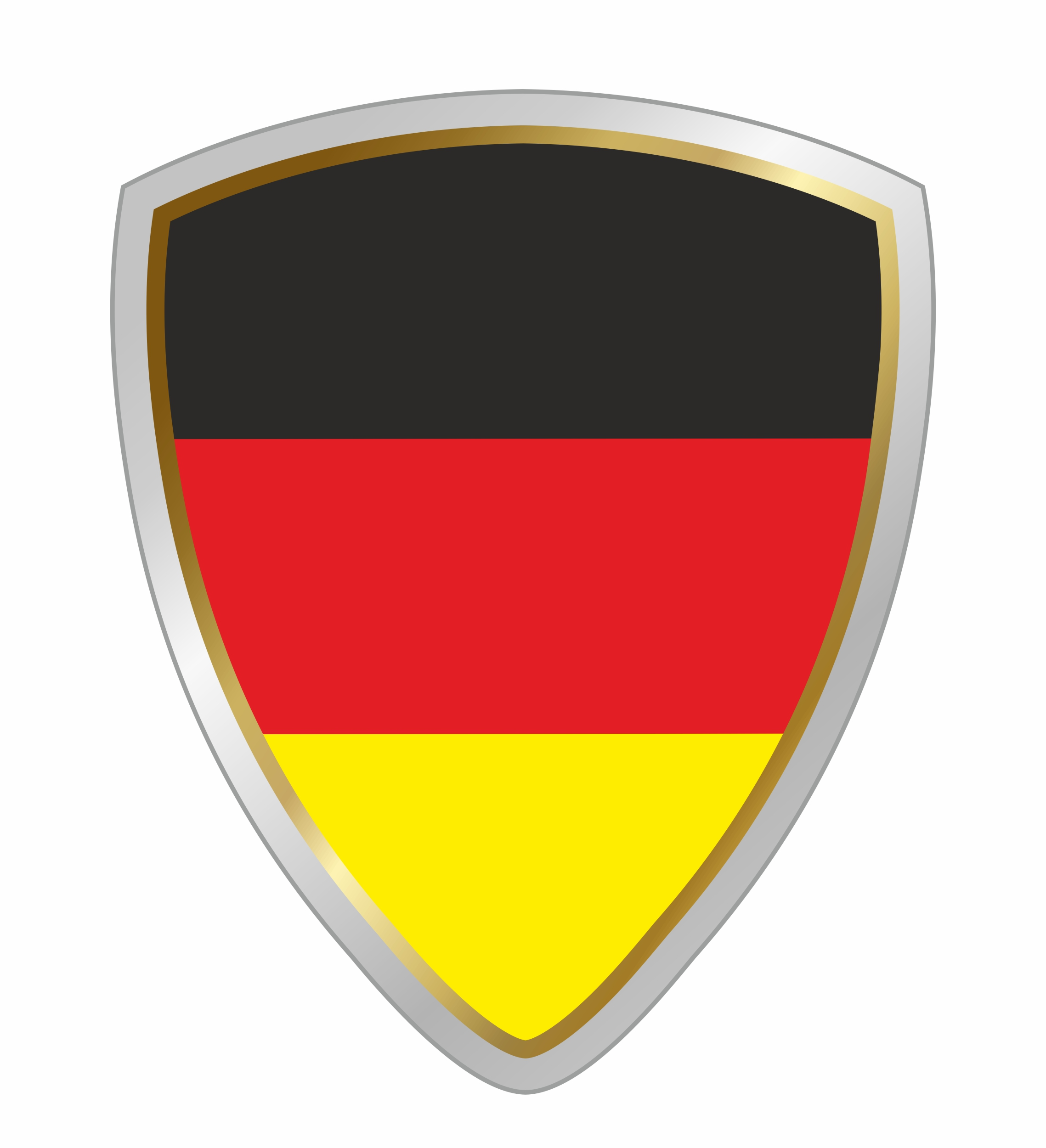 Sticker crest Germany  60 x 50 mm – Bild 1