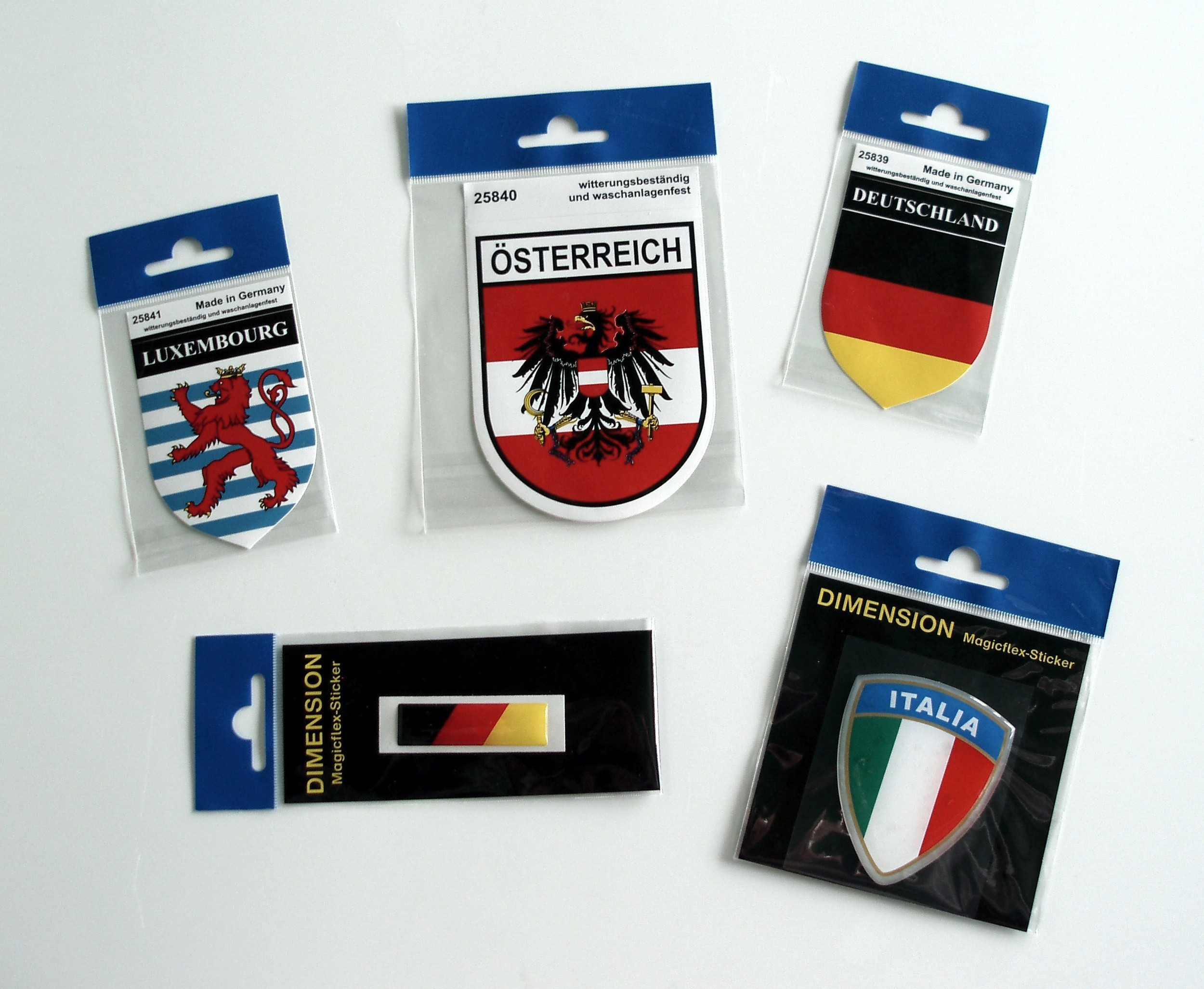 Sticker crest Germany  60 x 50 mm – Bild 2