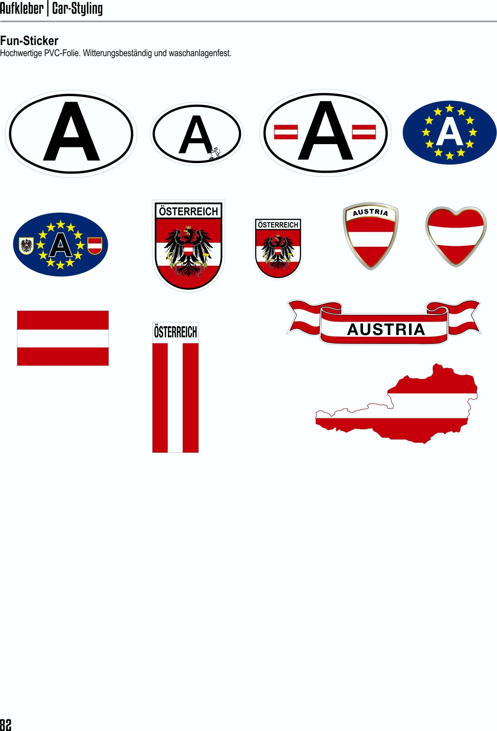 Sticker crest Germany  60 x 50 mm – Bild 4