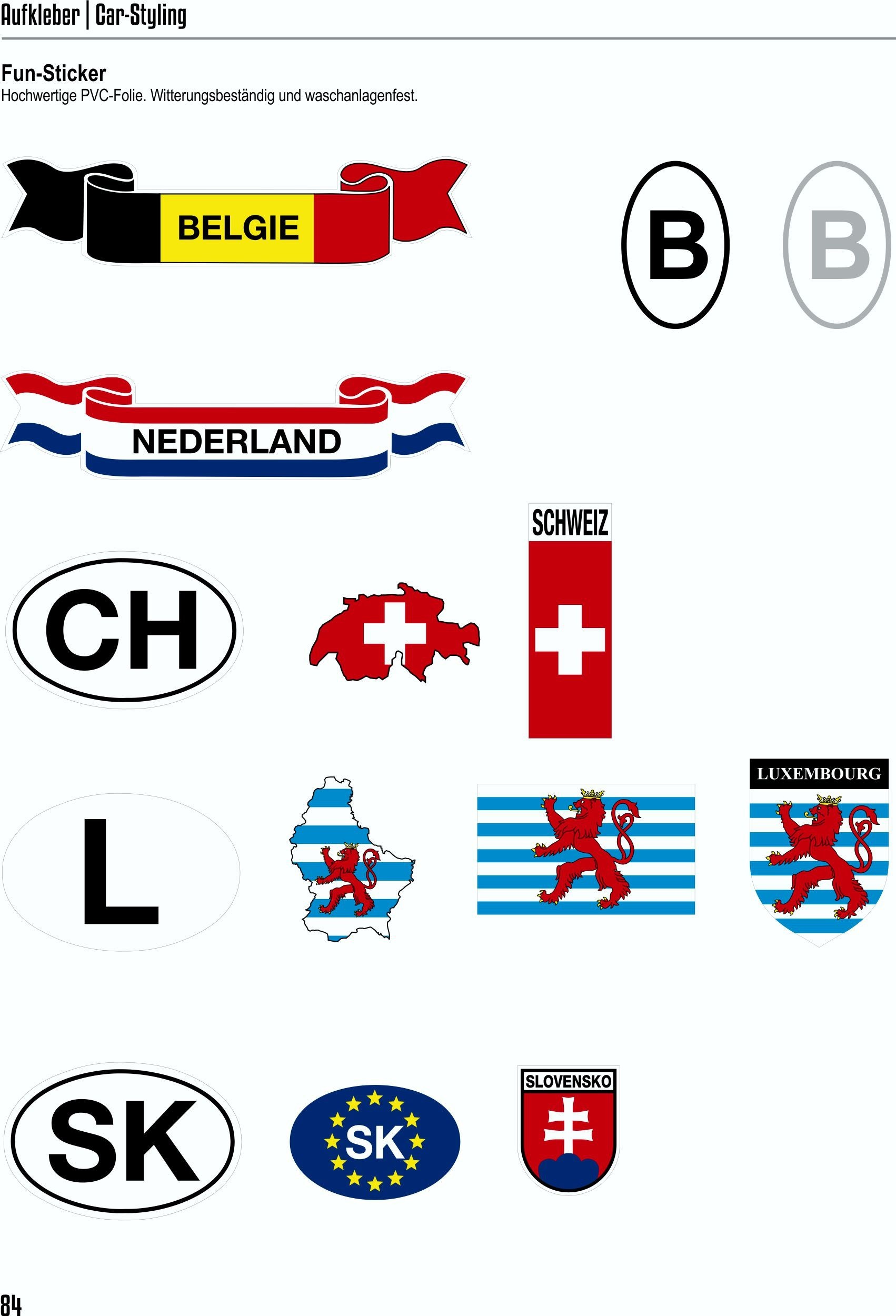 Sticker crest Germany  60 x 50 mm – Bild 6