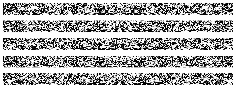 "Race-Stripe "" Tarnfolie Erlkönig"" 5 bande ``à 1000m x 60 mm – Bild 2"