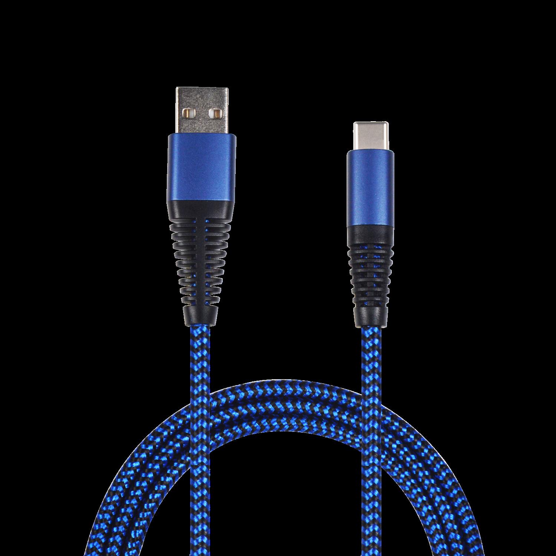 2GO USB Datacable USB-blue / Typ C, 1 m – Bild 1