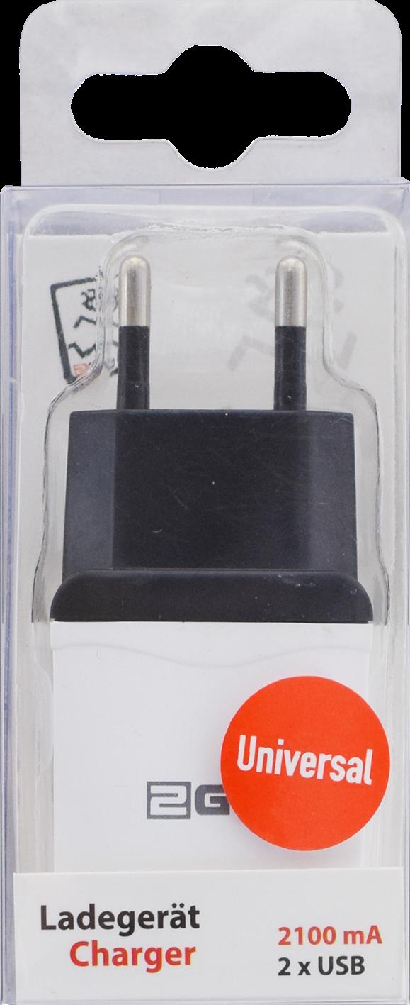 2GO chargeur avec 2 USB connexions – Bild 1