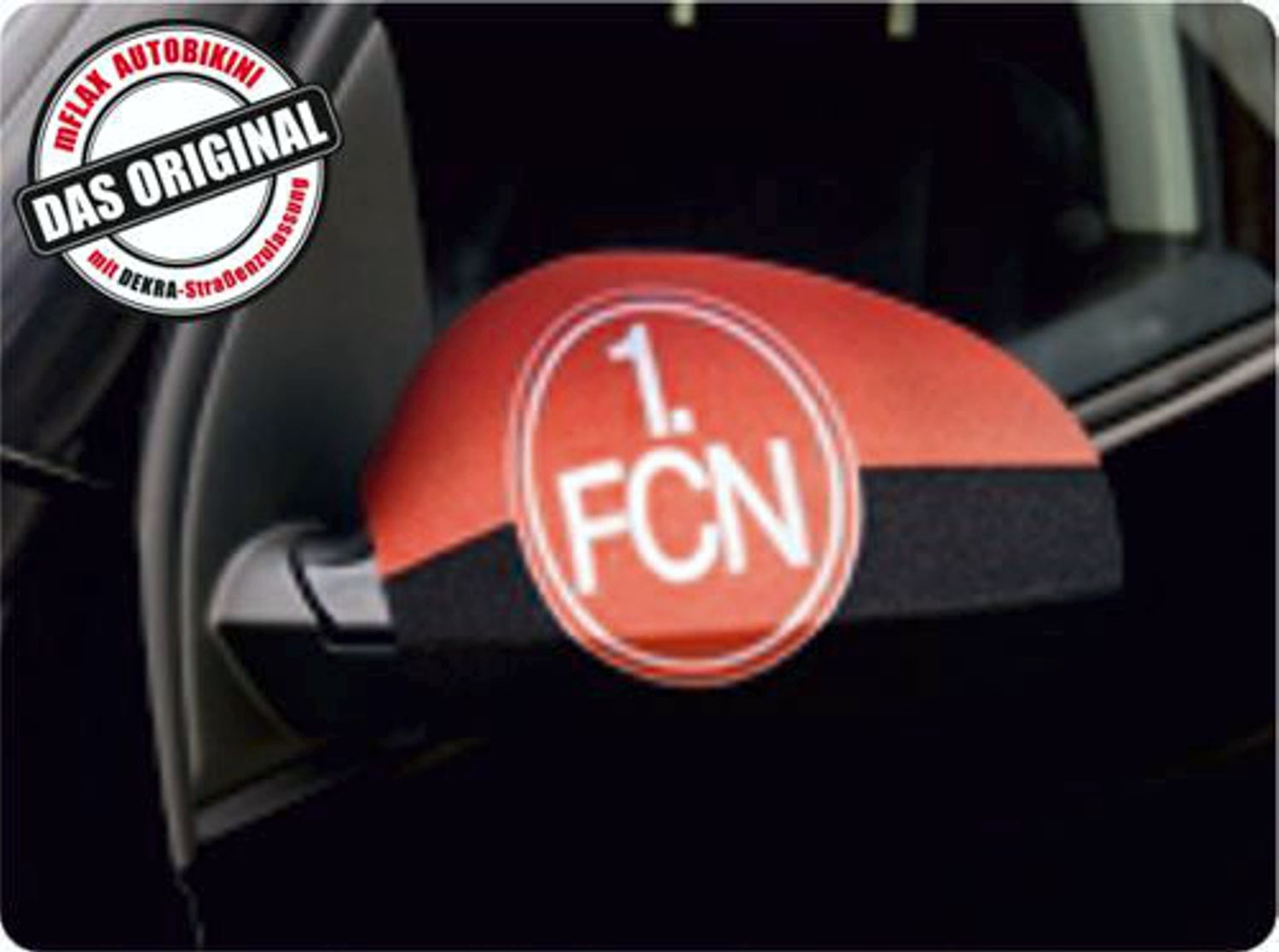Car-Bikini set of 2 german football league 1. FC Nürnberg – Bild 1