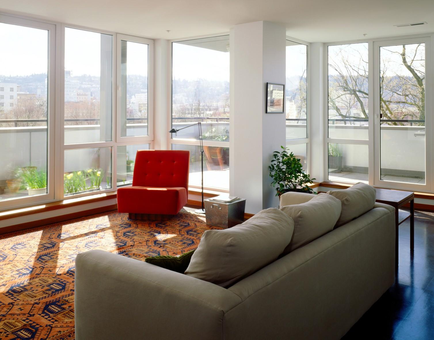 Sonnenschutzfolie für Gebäude silber verspiegelt 76 x 220 cm – Bild 2