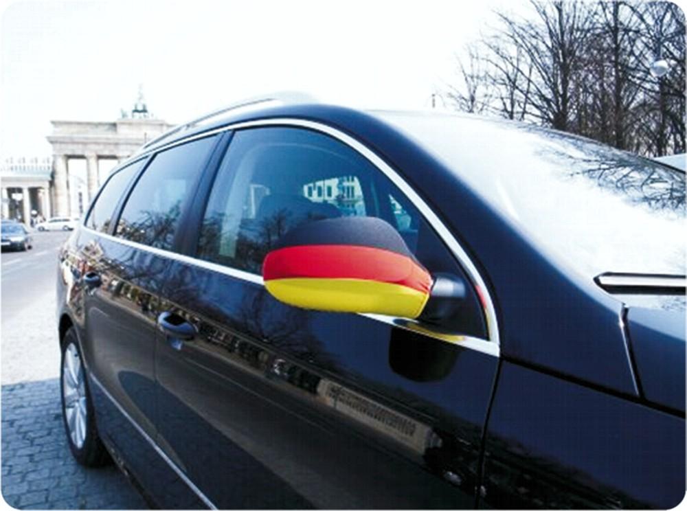 Außenspiegelflagge Car-Bikini 2er-Set Deutschland Fanartikel Olympia – Bild 2