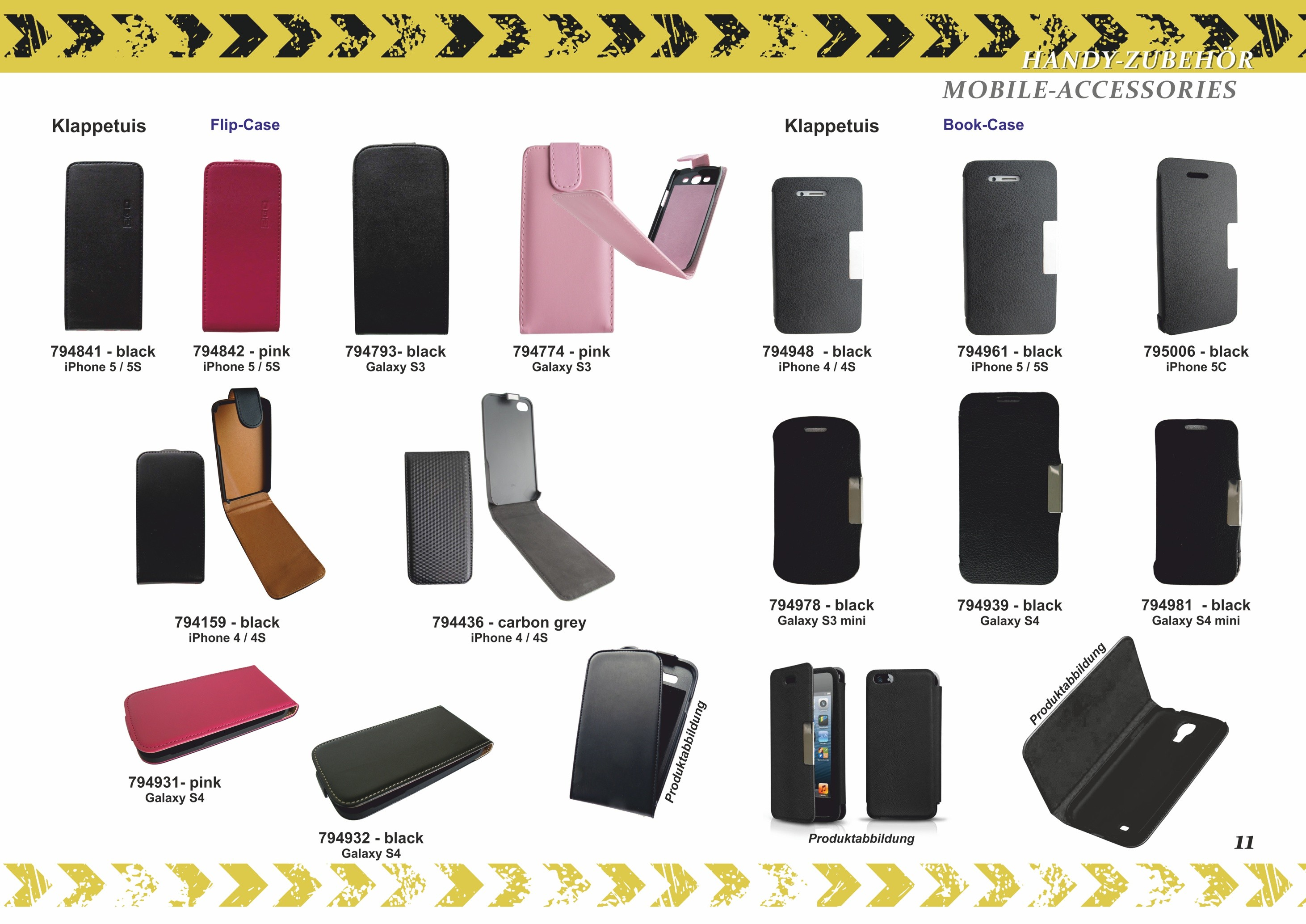 2GO Flip-Case for iPhone 4 / 4S leather – Bild 9