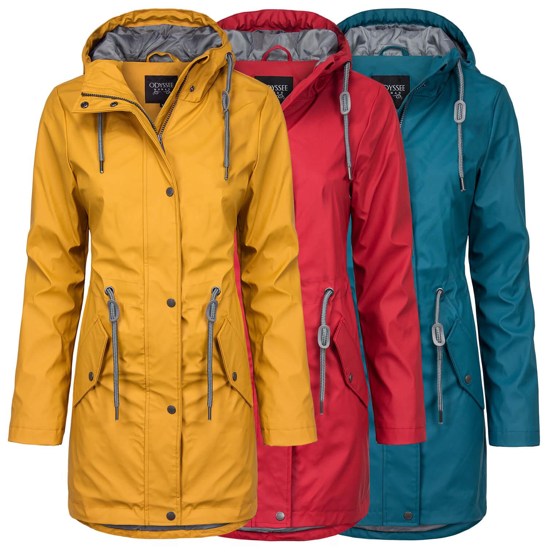 außergewöhnliche Auswahl an Stilen und Farben großartige Qualität begrenzter Stil ODYSSEE Damen Regenmantel