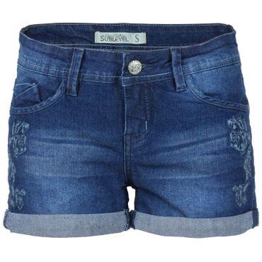 SUBLEVEL Damen Jeansshorts