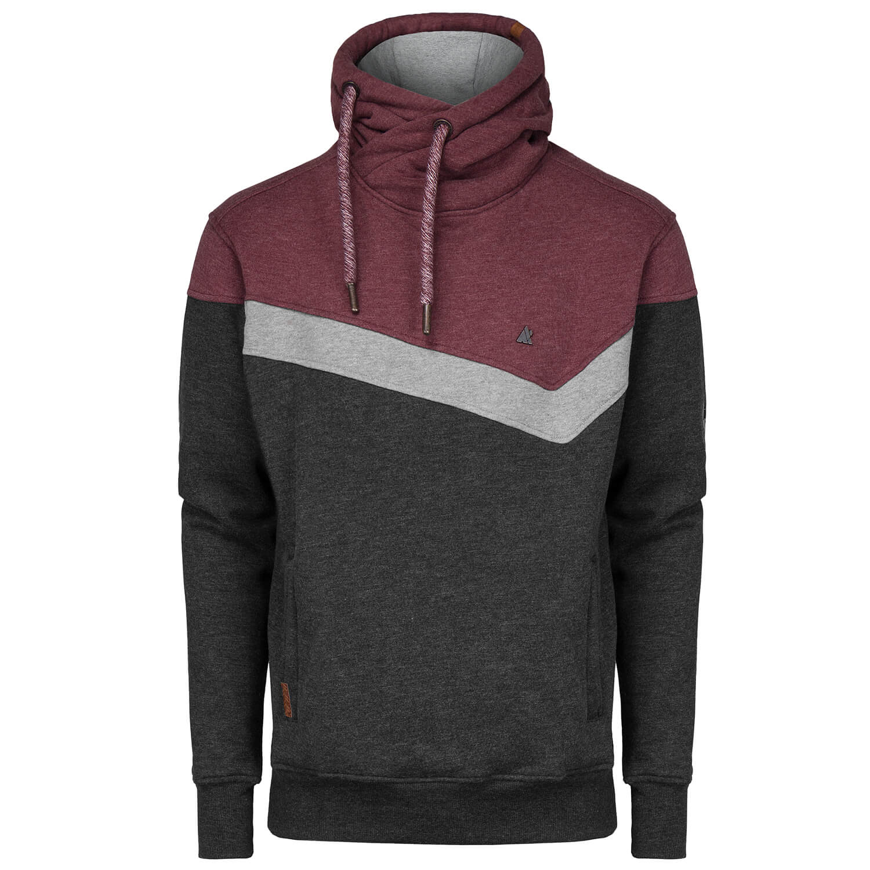 Details zu ALIFE AND KICKIN Herren Sweatshirt Sweater Pullover Colorblocking Kängurutasche