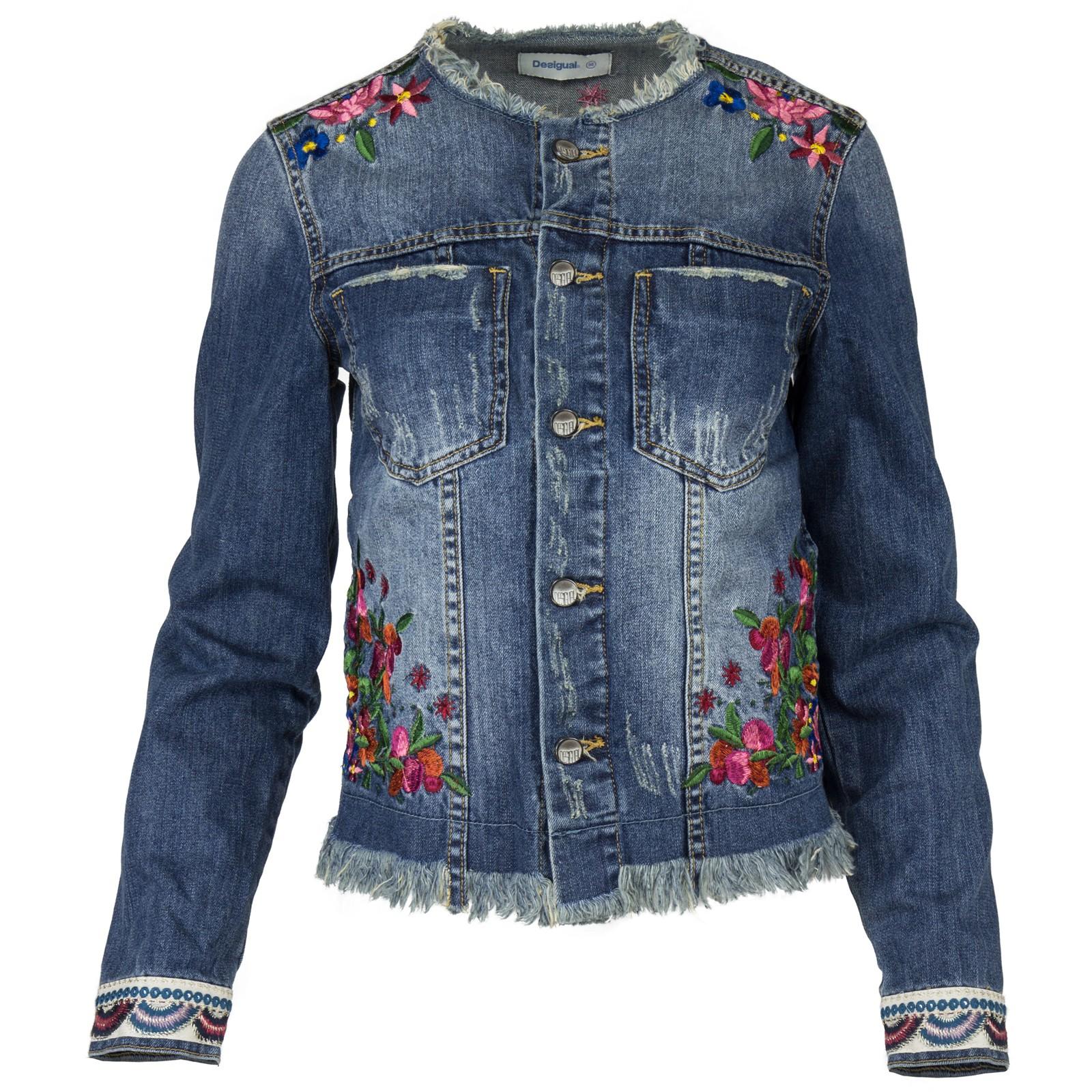 Desigual jeans jacke damen