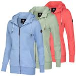 New View Damen Sweatjacke