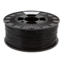 PrimaValue ABS Filament - 1.75mm - 1 kg spool - Black 2