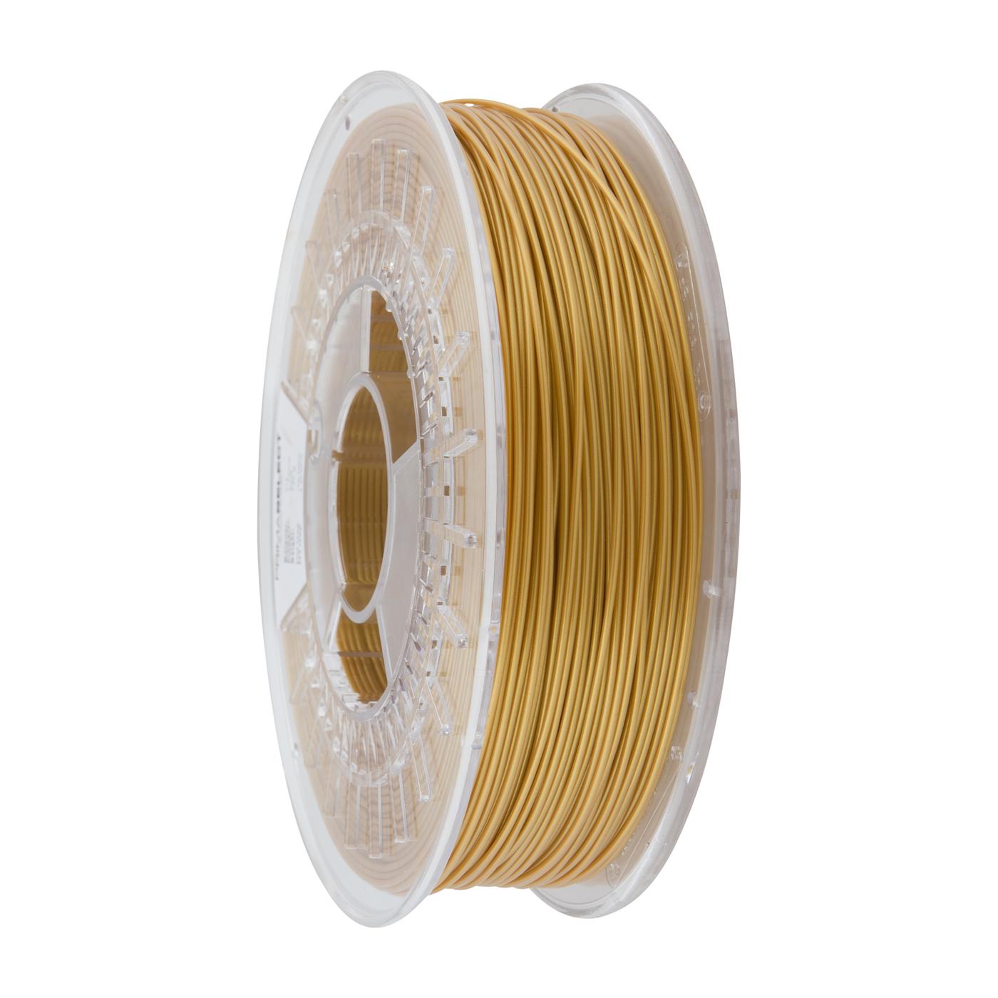 Ubrugte PrimaSelect PLA - 1.75mm - 750 g - Guld FILAMENT YA-67