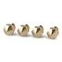 PrimaCreator MK8 Mixed Size Brass Nozzle - 4 pcs (0.20 mm/0.40 mm/0.60 mm/0.80 mm) 1