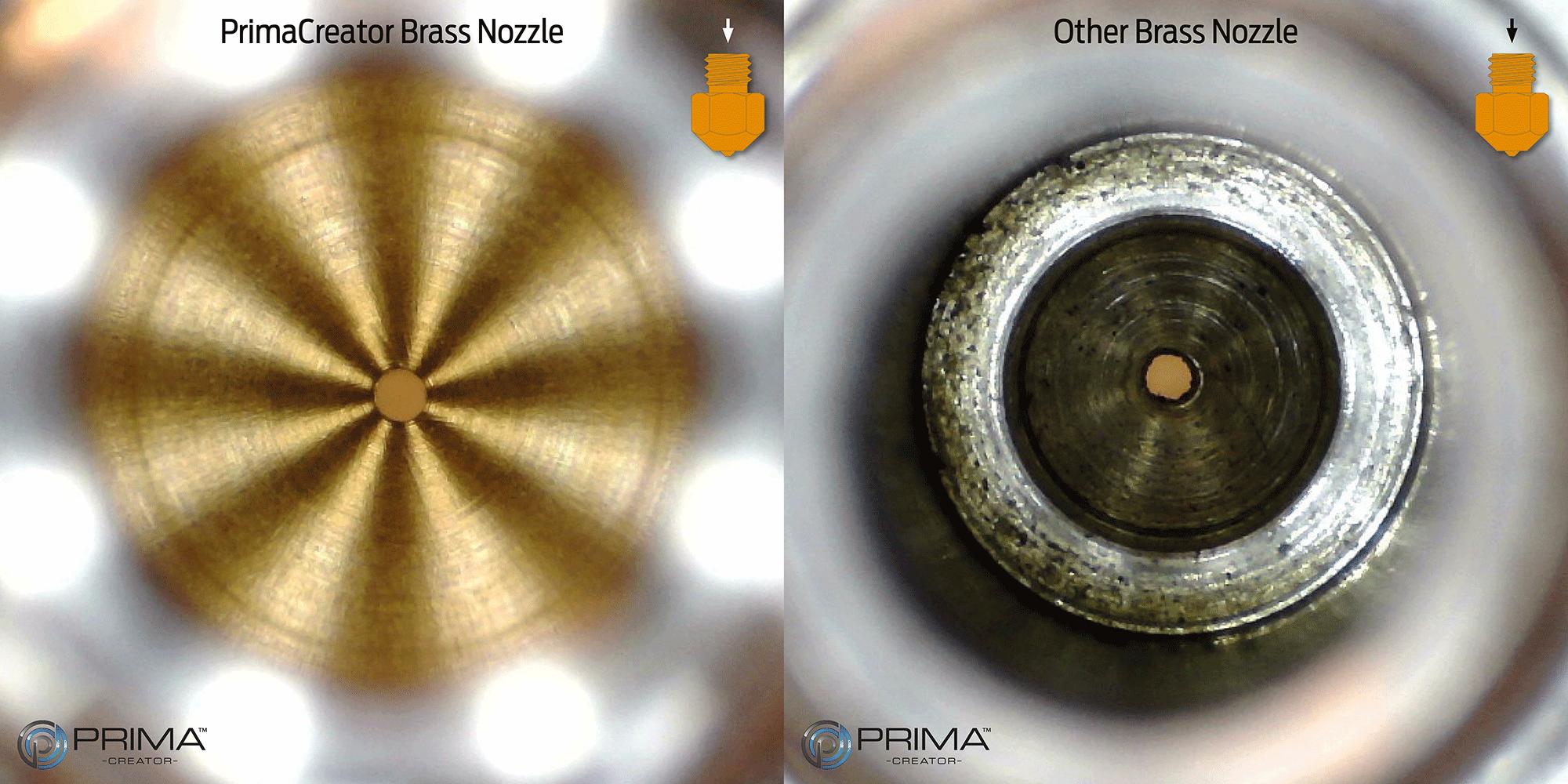 PrimaCreator 1 Stk P120 0,2 mm Messing Nozzle