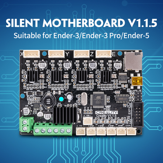 Creality 3D Silent 1.1.5 Mainboard for Ender 3 Pro