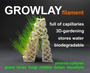 LayFilaments GROWLAY Filament - 1.75mm - 250 g - White 2