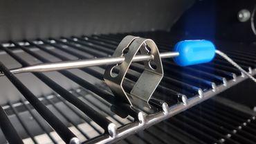 1 x Halter Halterung Clip für Grillthermometer und Temperaturfühler – Bild 5