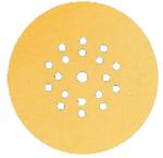 10 x MIRKA Scheiben GOLD Ø 225 mm  GRIP P150  19-Loch VE=25 St. 001